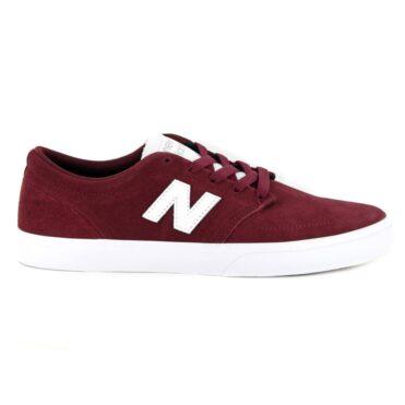 New Balance 345 Shoe Burgundy White