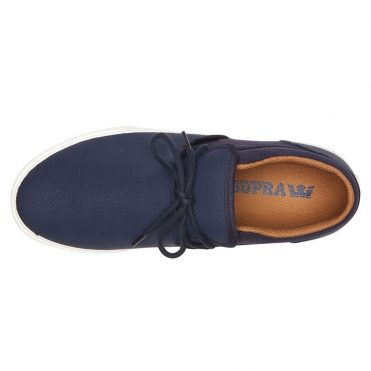 Supra Cuba Shoe Navy Bone