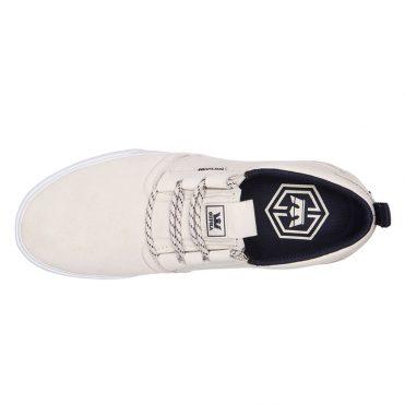 Supra Flow Shoe Bone Navy White