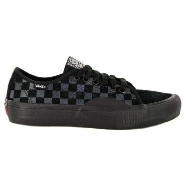 Vans AV Classic Pro Hairy Suede Shoe Black