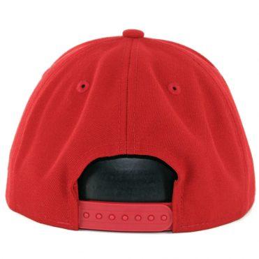 promo code 553a3 0099b New Era 9Fifty Houston Rockets League Pop Snapback Hat Scarlet Red -  Billion Creation Streetwear