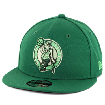 New Era 9Fifty Boston Celtics League Pop Snapback Hat Kelly Green ... 21ec9af6ae33