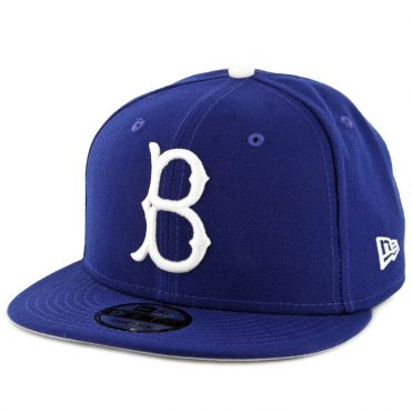 29c47c94fb8 New Era 9Fifty Brooklyn Dodgers Cooperstown Basic Snapback Hat Royal Blue  ...