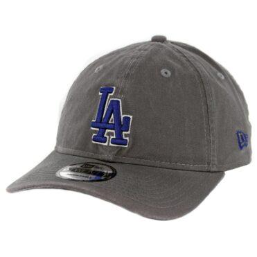 63faa7a3bc6 New Era 9Twenty Los Angeles Dodgers Core Classic Strapback Hat Graphite ...