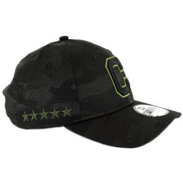 1946f5af722 ... New Era 9Twenty Cleveland Indians 2018 Memorial Day Strapback Hat Black
