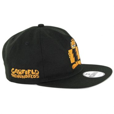 ... The Hundreds Garfield Flag Snapback Hat Black 983629660e4c