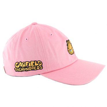 4e0cd1f90e4 ... The Hundreds Garfield Mood Dad Strapback Hat Light Pink