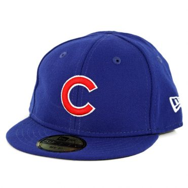 b5d63c0e851 New Era 59Fifty My First Chicago Cubs Game Authentic On Field Fitted Hat  Royal Blue ...