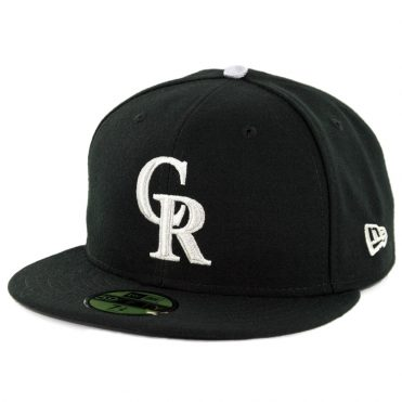 New Era 59Fifty Colorado Rockies 2018 Alternate 3 Authentic On Field Fitted Hat Black