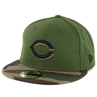 New Era 59Fifty Cincinnati Reds Alternate 2 Authentic On Field Fitted Hat Green