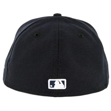 69ce11686c5 ... New Era 59Fifty Detroit Tigers Home Authentic On Field Fitted Hat Dark  Navy
