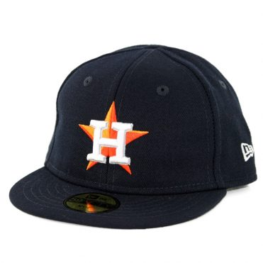 0f1d9980257 New Era 59Fifty My First Houston Astros Home Authentic On Field Fitted Hat  Dark Navy ...