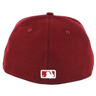 wholesale dealer 5af05 435de ... New Era 59Fifty Los Angeles Dodgers Fitted Hat Cardinal