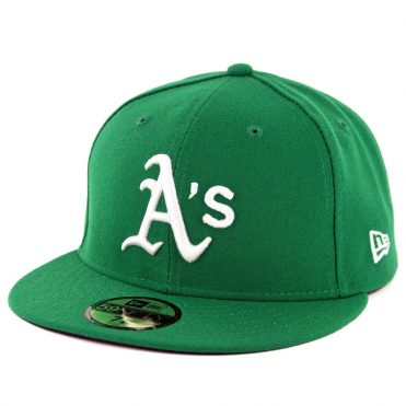 New Era 59Fifty Oakland Athletics Alternate Authentic On Field Fitted Hat Green
