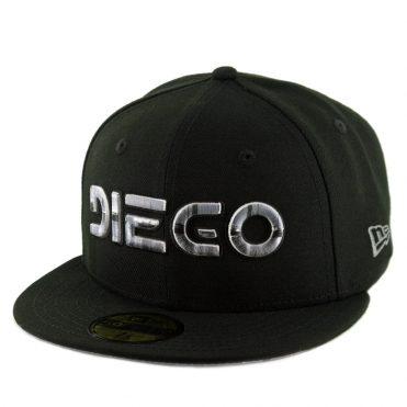 41f9ccc9 New Era x Billion Creation 59Fifty Diego Fitted Hat Black ...