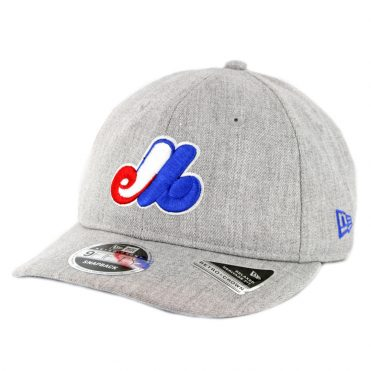 a6db78ed1d6 New Era 9Fifty Montreal Expos Heathered Team 1969 Snapback Hat Heather Grey  ...