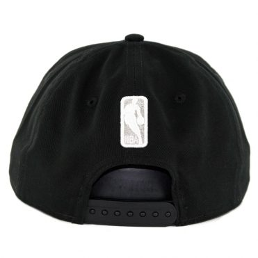 76306878cac ... New Era 9Fifty San Antonio Spurs Badged Fan Retro Snapback Hat Black