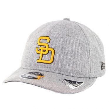 New Era 9Fifty San Diego Padres Heathered Team 1980-1984 Snapback Hat  Heather Grey ... 47099b9b1054