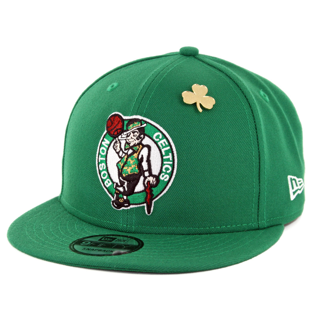 19d64d7716e1cf New Era 9Fifty Boston Celtics NBA 2018 Draft Snapback Hat Kelly Green