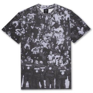 e27ca871 HUF DBC FC 12 Galaxies Short Sleeve T-Shirt Black ...