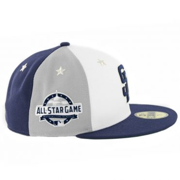 2f64935de57 ... New Era 59Fifty San Diego Padres 2018 All Star Game Fitted Hat Navy  Grey White