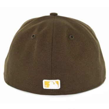 ... New Era 59Fifty San Diego Padres Kanji Fitted Hat Brown de062f2587e
