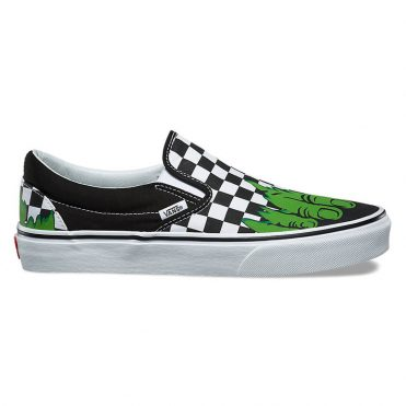Vans x Marvel Classic Slip-On Shoe Hulk Checkerboard