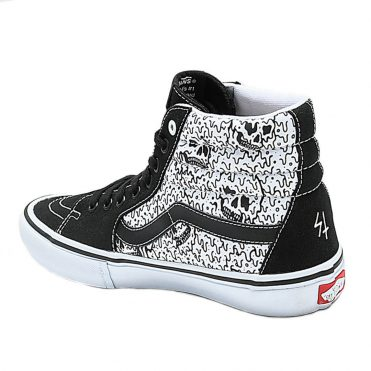 Vans x Sketchy Tank Sk8-Hi Pro Shoe Black White