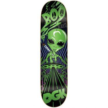 80eafc81314 DGK Blacklight Boo Skateboard Deck Black