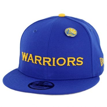 583df7ea1e4 New Era 9Fifty Golden State Warriors Pinned Snapback Hat Royal Blue ...