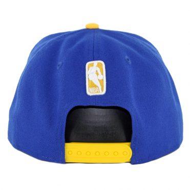 e0552cbab35 ... New Era 9Fifty Golden State Warriors Pinned Snapback Hat Royal Blue
