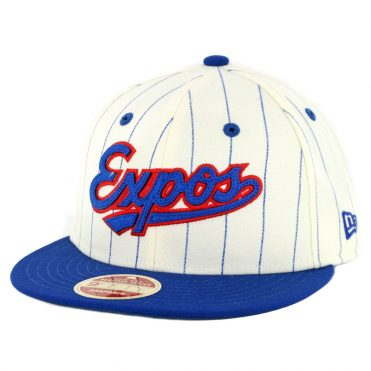 watch 3f9c6 fe77b New Era 9Fifty Montreal Expos Cooperstown All Star Game 2018 Pinstripe Snapback  Hat Off White Royal ...