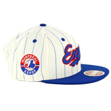 27b3d7df509 ... New Era 9Fifty Montreal Expos Cooperstown All Star Game 2018 Pinstripe Snapback  Hat Off White Royal