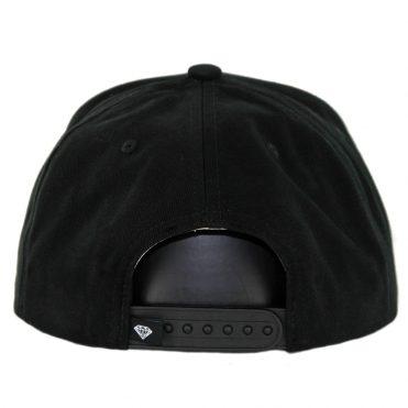 Diamond Supply Co x Deathwish Sign Snapback Hat Black
