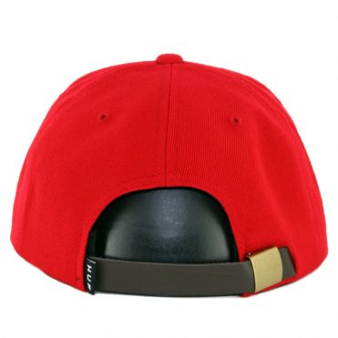 eb6315742e6 ... HUF Metal H Strapback Hat Scarlet