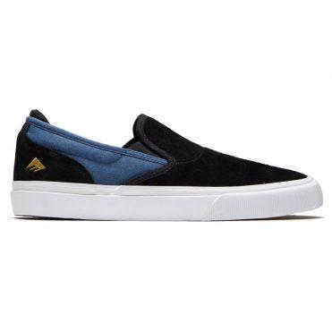 Emerica Wino G6 Slip-On Shoe Black Blue