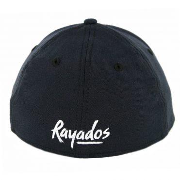 New Era 39Thirty Monterrey Rayados Stretch Fit Hat Dark Navy White Dark Navy