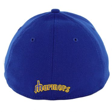 b3aa6559038 ... New Era 39Thirty Seattle Mariners Cooperstown Stretch Fit Hat Royal Blue