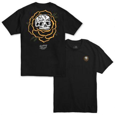 Sketchy Tank Rose Scratch N Sniff T-Shirt Black