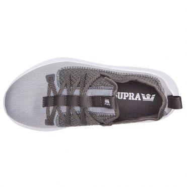 Supra Factor Shoe Light Grey Grey White