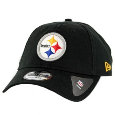 New Era 9Twenty Pittsburgh Steelers Core Classic Strapback Hat Black ... 28024f364