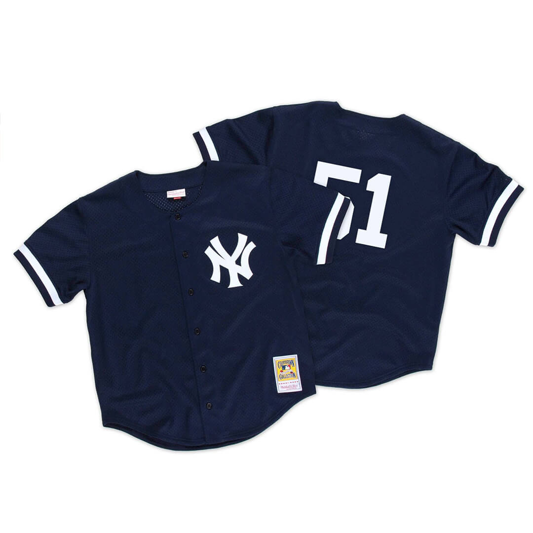 premium selection bb128 0f71c Mitchell & Ness New York Yankees Authentic BP 1998 Jersey Dark Navy