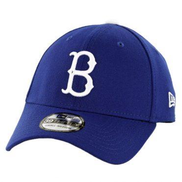 New Era 39Thirty Brooklyn Dodgers Team Classic Stretch Fit Hat Royal Blue