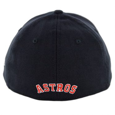 newest 98a91 cb2ba ... New Era 39Thirty Houston Astros Road Team Classic Stretch Fit Hat Navy  Orange