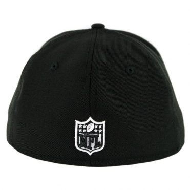 New Era 59Fifty Oakland Raiders Raider Nation Fitted Hat Black