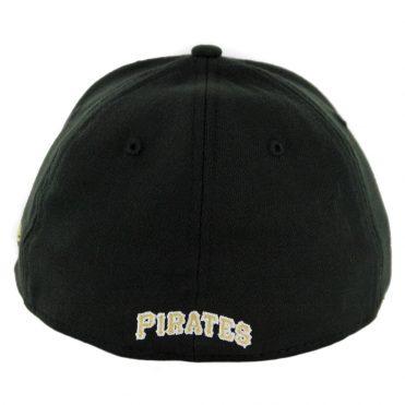 New Era 39Thirty Pittsburgh Pirates Game Team Classic Stretch Fit Hat Black