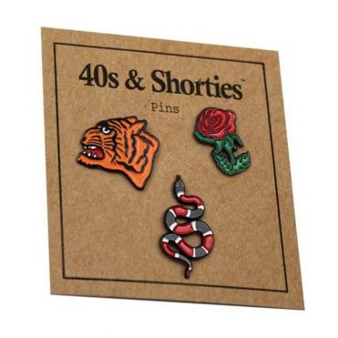 40's & Shorties Runway Set Pins