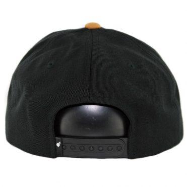 The Hundreds Lot Snapback Hat Black