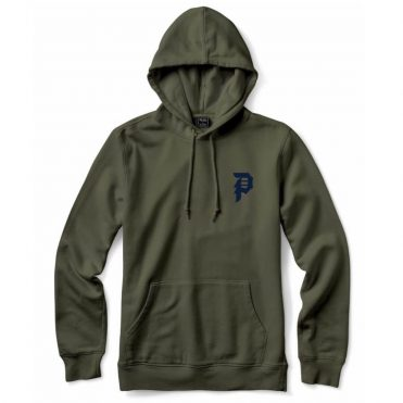 Primitive Dirty P Hooded Sweatshirt Olive
