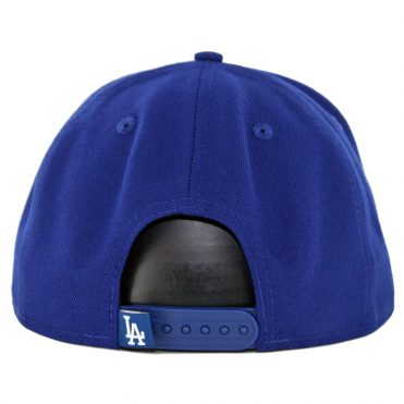 best loved 44166 7c1a3 ... New Era 9Fifty Los Angeles Dodgers Caps On Caps Snapback Hat Dark Royal